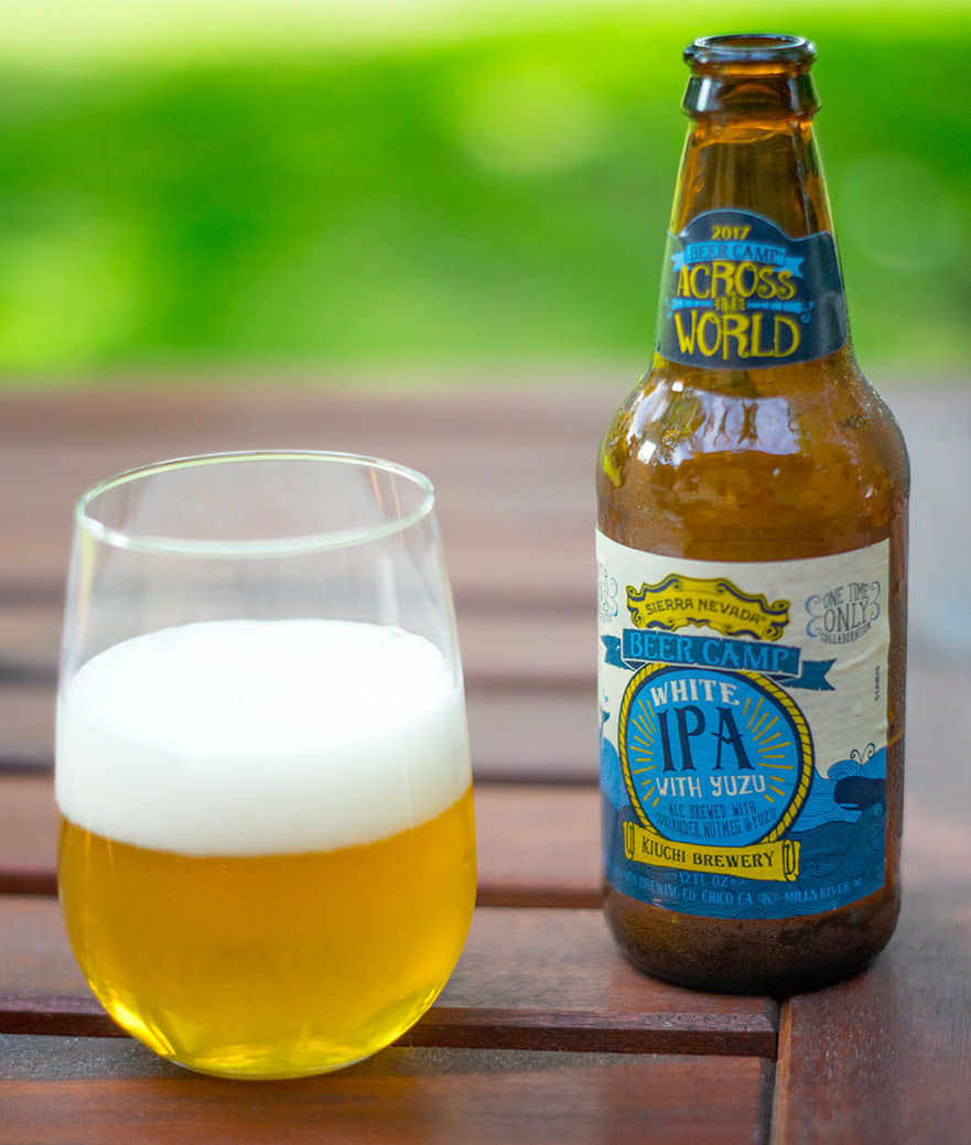Sierra Nevada Beer Camp: White IPA with yuzu