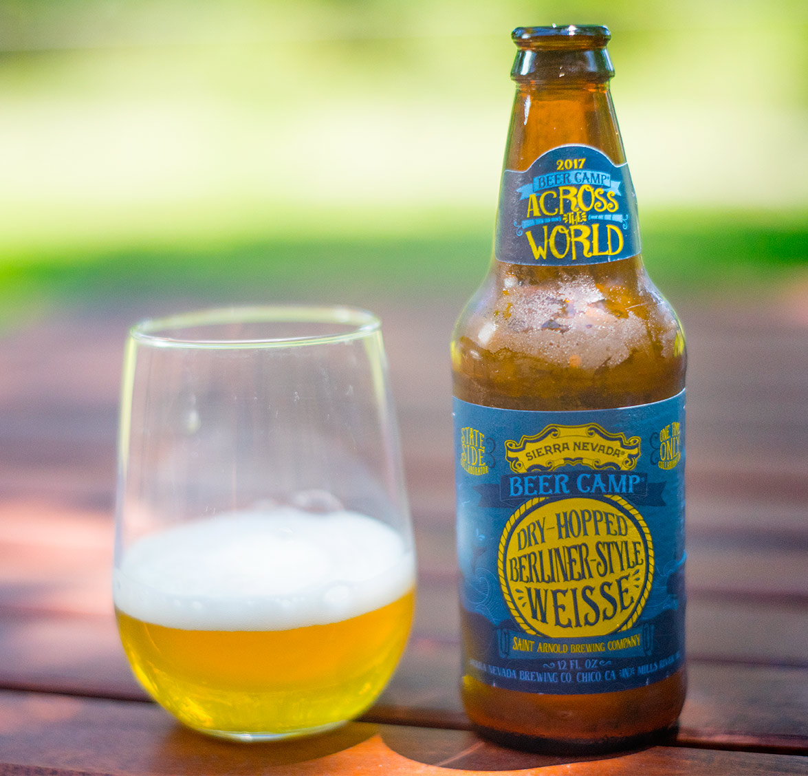 Sierra Nevada Beer Camp: Dry-hopped Berliner-Style Weisse