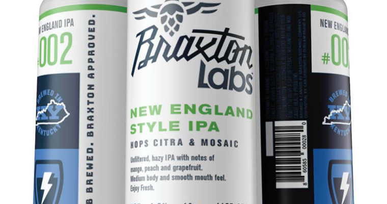 Braxton Labs to Release First Canned Beer: New England Style IPA