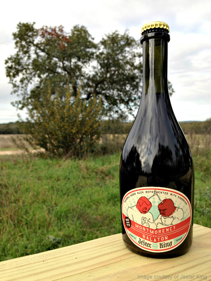 Jester King to release montmorency vs. balaton blend