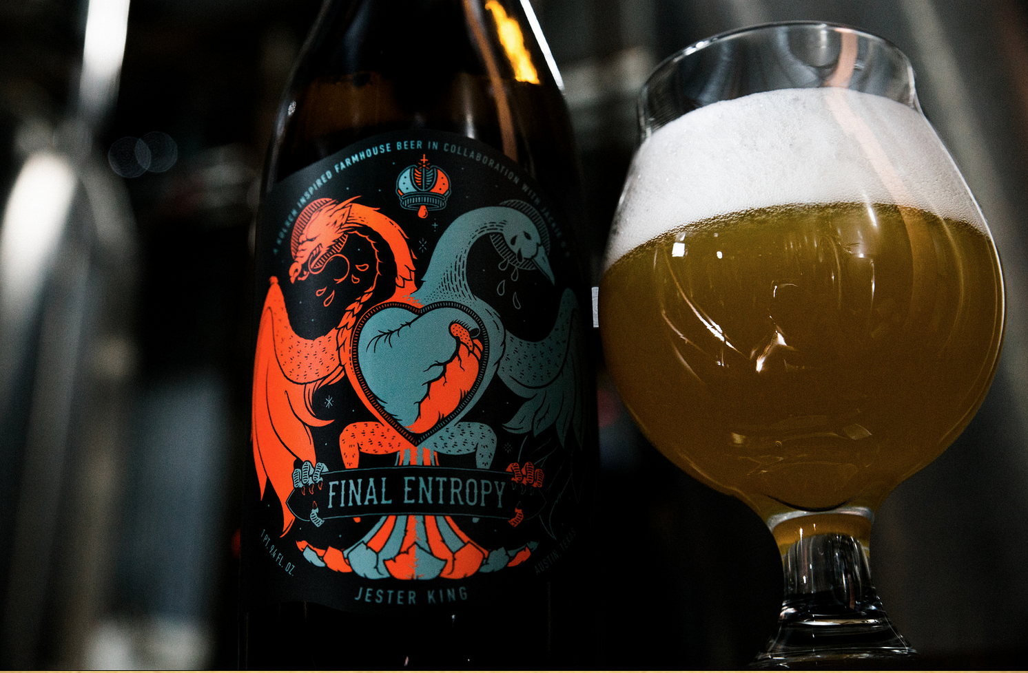 Introducing: Jackie O's / Jester King Final Entropy