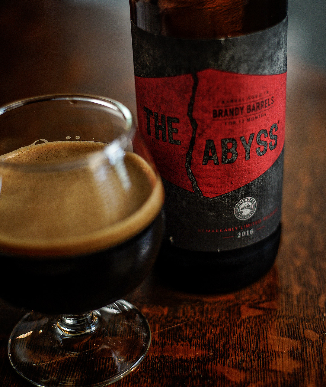 Deschutes Brandy Barrel Abyss Rocks Your Mouth Off