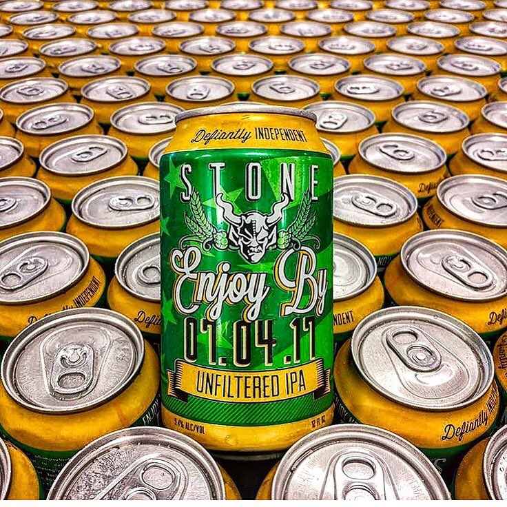 Just Released: Stone Enjoy By 07.04.17 Unfiltered IPA